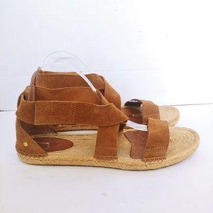 Ugg suede gladiator sandals